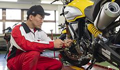 二輪自動車整備科