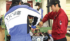 YIC京都工科自動車大学校の強み