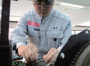 一級自動車整備科 坂本さん
