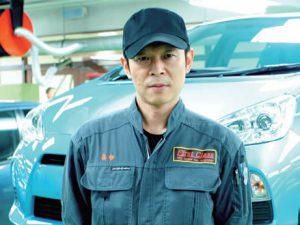 一級自動車整備科 喜多 好洋先生