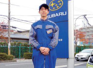 一級自動車整備科 平田さん