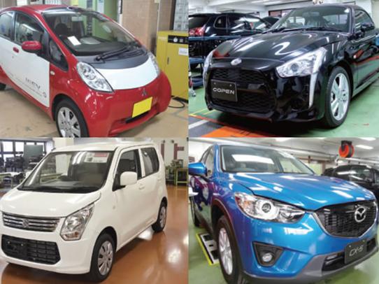 あらゆるメーカーの自動車、教材を使用します。