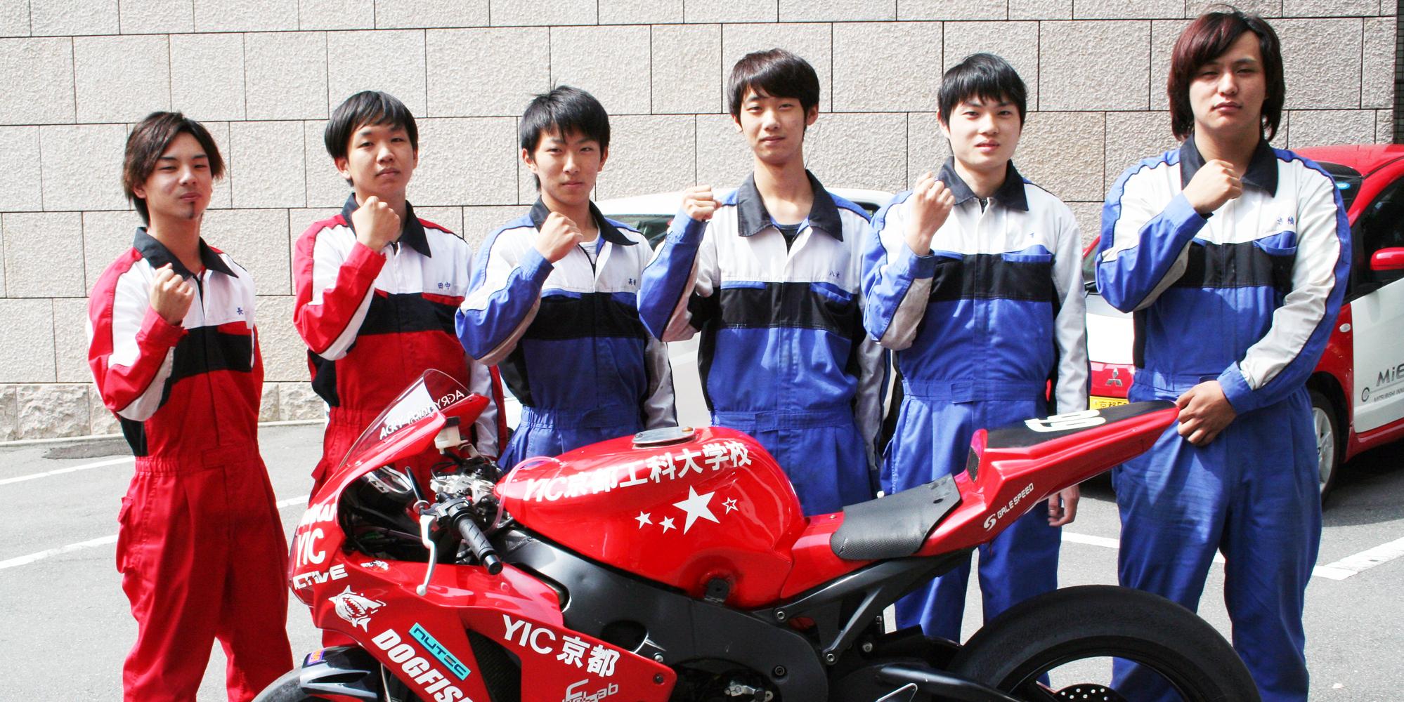 2015年YIC京都鈴鹿8耐スタッフ紹介
