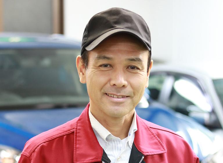 二輪自動車整備科学科長 中澤 輝行先生