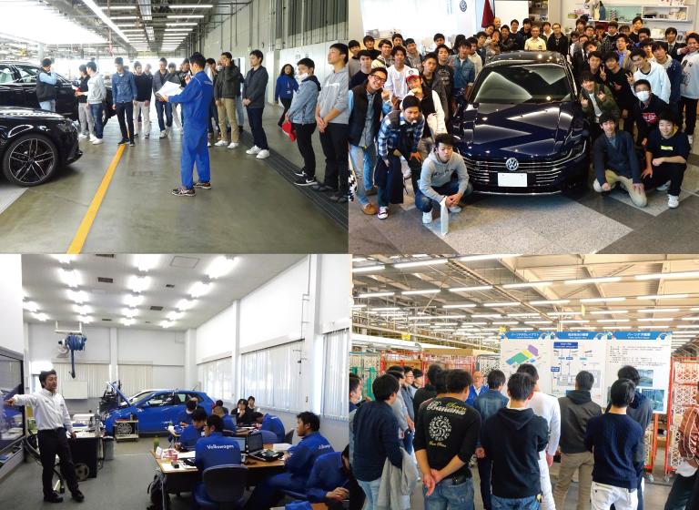 海外メーカーの国内最大級のインポートセンターで研修。