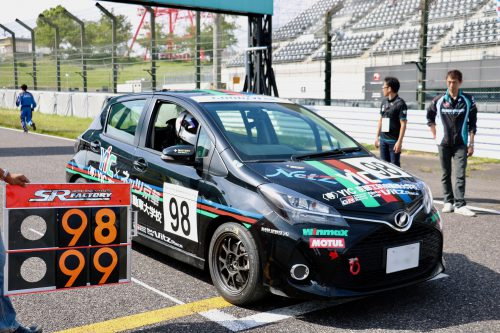 「Netz Cup Vitz Race 2018」第3戦に参戦!