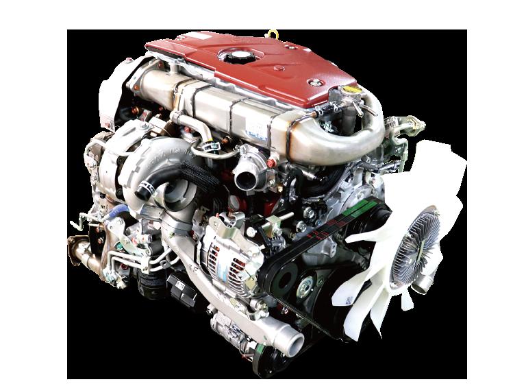 N04C-UM型 ディーゼルエンジン