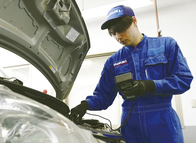 一級自動車整備科卒業 坂本さん