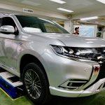 〈企業連携授業〉京都三菱自動車販売グループ主催 特別技術講習会開催