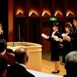 京都中央学院 合同入学式を挙行しました。