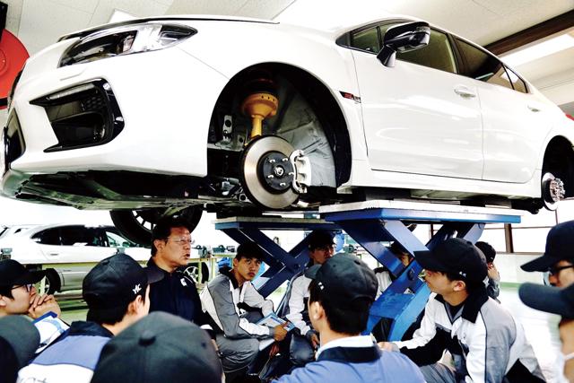 YIC京都の自動車整備科