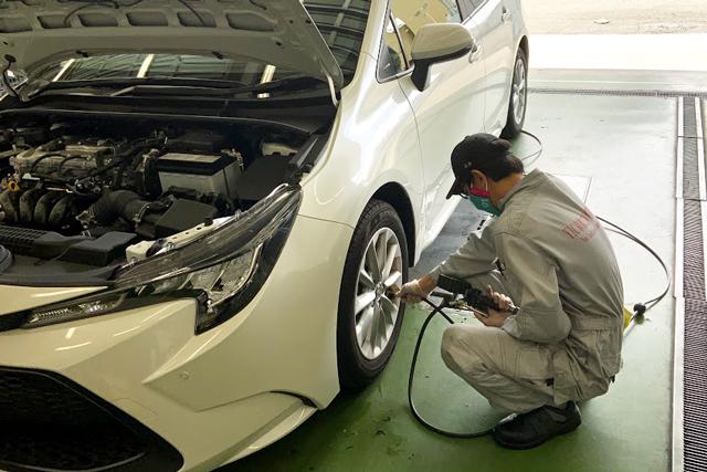 自動車整備科と二輪自動車整備科